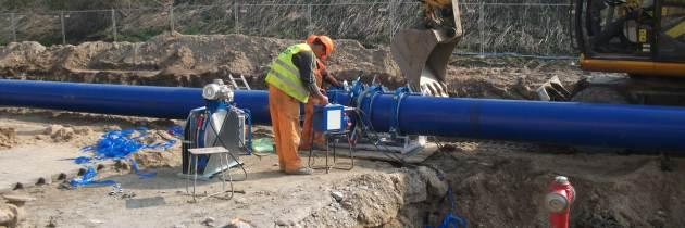 Montaż nowej instalacji wody na terenie Michelin Polska S.A.