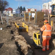 Budowa linii tramwajowej Aleja Gen.Sikorskiego w Olsztynie